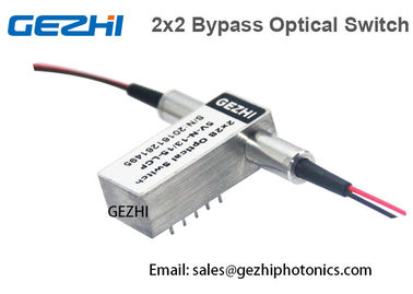 Trung Quốc 8ms Fast Switching Time Loop Optical Switches 2x2 Optical Bypass Switch nhà cung cấp