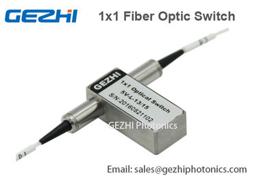 Trung Quốc 1x1 Opto Mechanical Optical Switches ON / OFF Mini Fiber Optic device nhà cung cấp