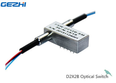 Trung Quốc D2X2B Mechanical Optical Switches For OADM System , OXC , Monitor System nhà cung cấp