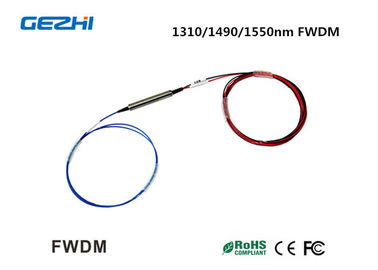 Trung Quốc 1310/1490/1550nm Filter Wavelength Division Multiplexer FWDM for WDM system / CATV nhà cung cấp