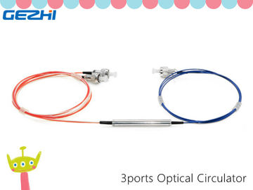 Trung Quốc 3 Ports 1310/1550nm Fiber Optics Components Polarization Insensitive Optical Circulator nhà cung cấp