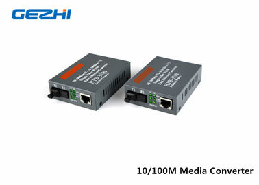 Trung Quốc 10/100 SM 20KM 1310/1550nm Fiber Optics Components fiber optic Ethernet Media Converter nhà cung cấp
