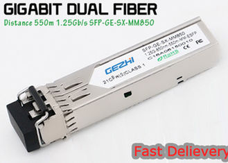 Trung Quốc 1.25G 850nm Fp 550m Lc Mmf Small Form Factor Pluggable Transceiver Fcc Compliant Sfp nhà cung cấp