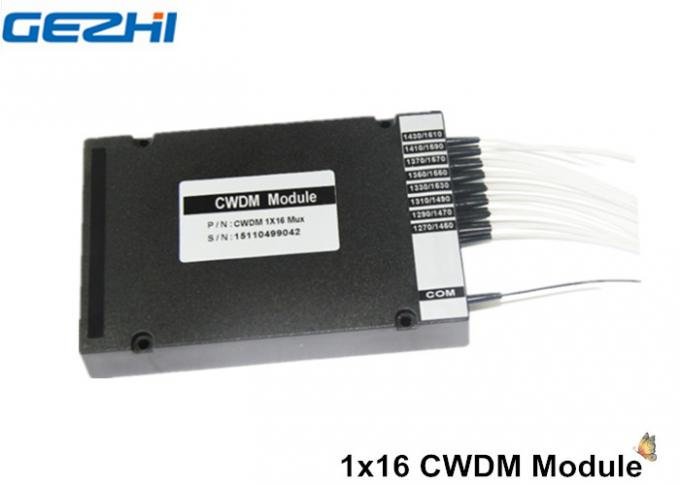 Passive device 1x16 CWDM Mux Demux for WDM Nettwork , CATV system